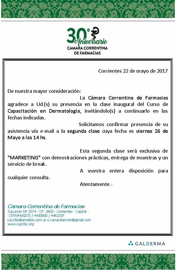 2do. modulo Curso en Dermatología